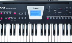 Los Angeles, CA — Roland is pleased to announce the BK-3 Backing Keyboard, the latest member of...